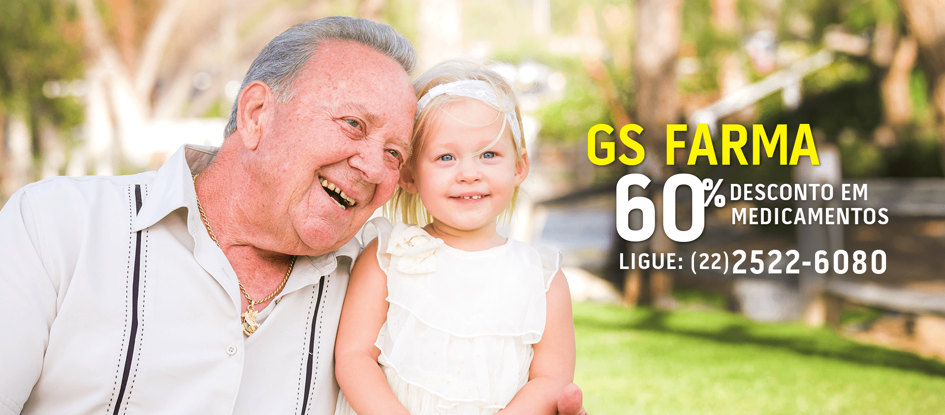 GS Farma, ligue agora